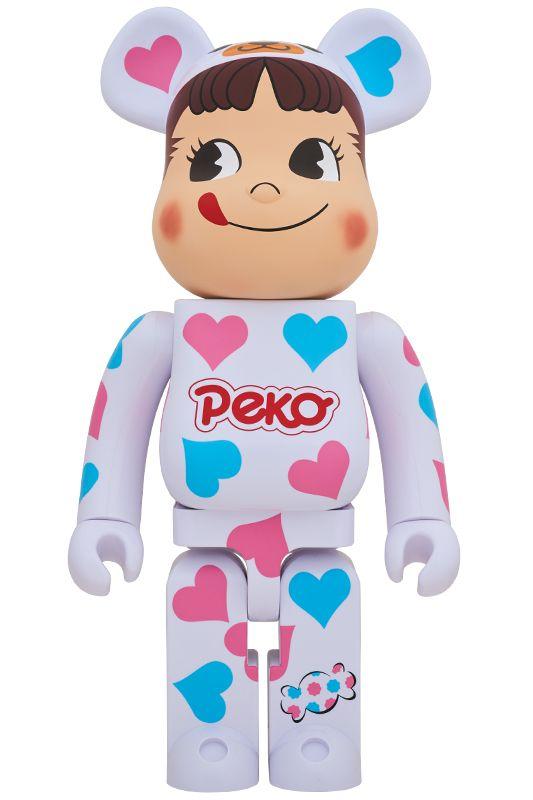 Bearbrick — Peko Candy 1000%