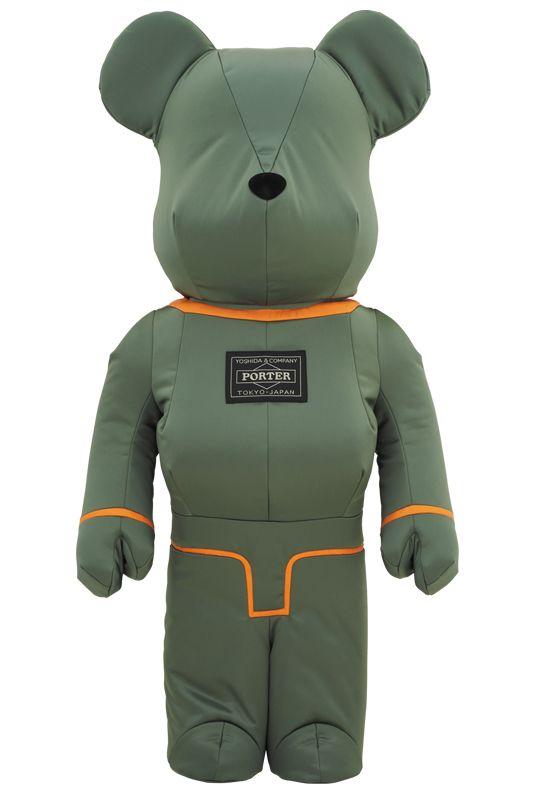 Bearbrick — PORTER 1000% TANKER SAGE GREEN Special Edition
