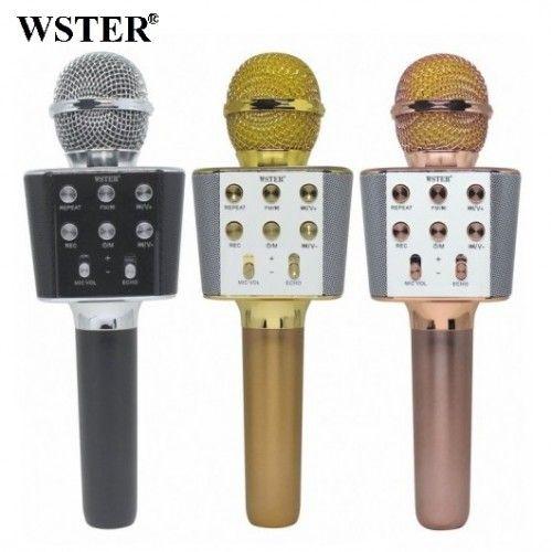 Колонка с функцией Караоке Микрофона Wster WS-1688