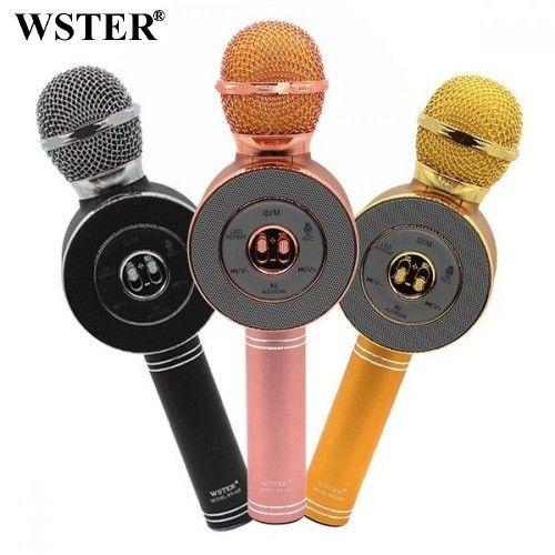 Колонка с функцией Караоке Микрофона Wster WS-668
