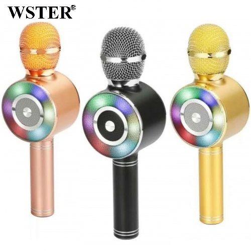 Колонка с функцией Караоке Микрофона Wster WS-669