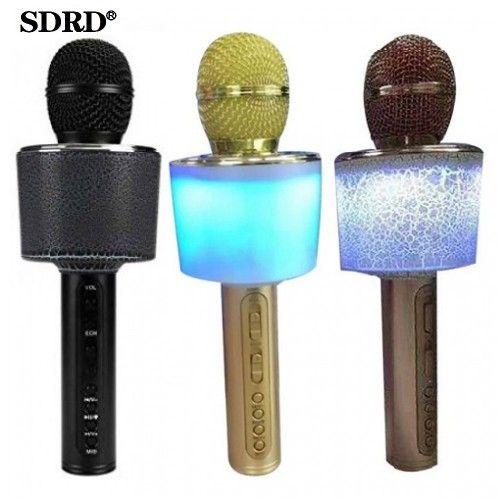 Портативная Колонка-Микрофон Magic Karaoke с подсветкой SDRD SD-07L