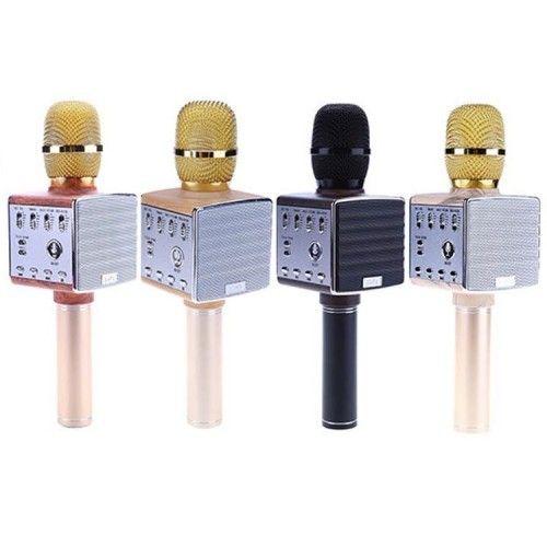 Портативный караоке микрофон с встроенными динамиками D8