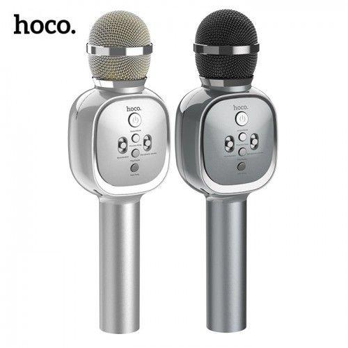 Портативный караоке микрофон со встроенным динамиком Hoco BK4