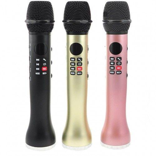 Портативный караоке микрофон со встроенным динамиком iCHENLE L-598