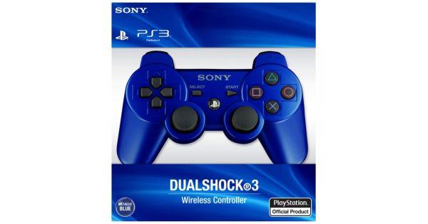 Джойстик беспроводной Controller Wireless Dual Shock 3 Blue (PS3)