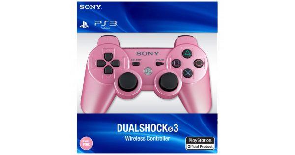 Джойстик беспроводной Controller Wireless Dual Shock 3 Pink (PS3)