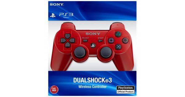 Джойстик беспроводной Controller Wireless Dual Shock 3 Red (PS3)