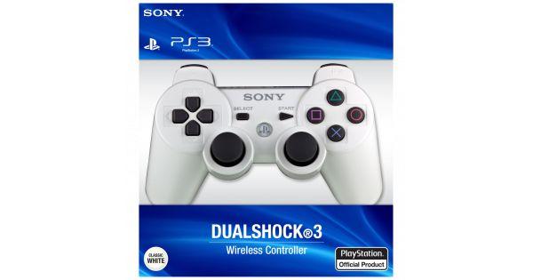 Джойстик беспроводной Controller Wireless Dual Shock 3 White (PS3)