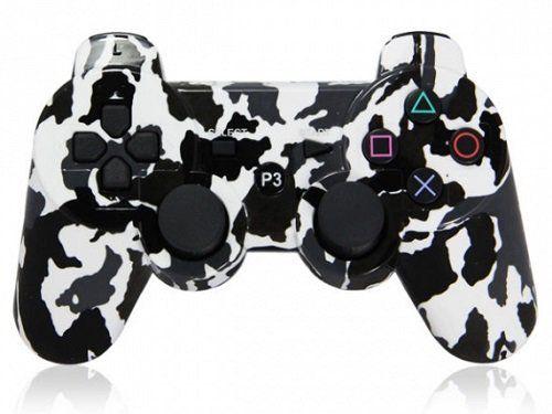 Джойстик геймпад dualshock 3 (Белый-Черный-Серый) PS3