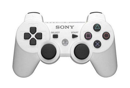 Джойстик геймпад dualshock 3 (белый) PS3