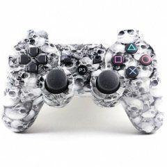 Джойстик геймпад dualshock 3 (черепа) PS3