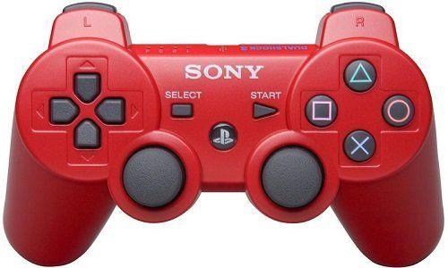 Джойстик геймпад dualshock 3 (красный) PS3