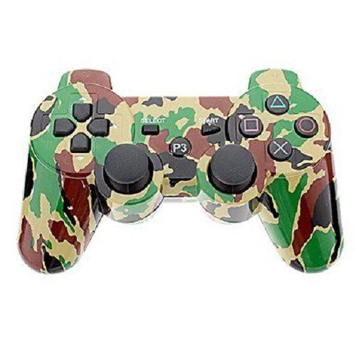 Джойстик геймпад dualshock 3 (Желтый-Зеленый-Коричневый) PS3