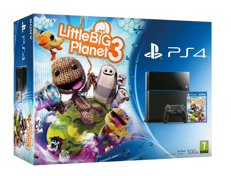 PlayStation 4 500Gb + LittleBigPlanet 3