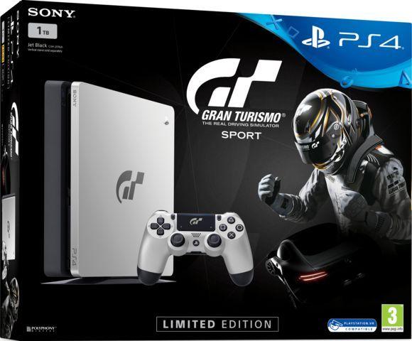 Sony PlayStation 4 1TB Slim  Gran Turismo Sport Limited Edition