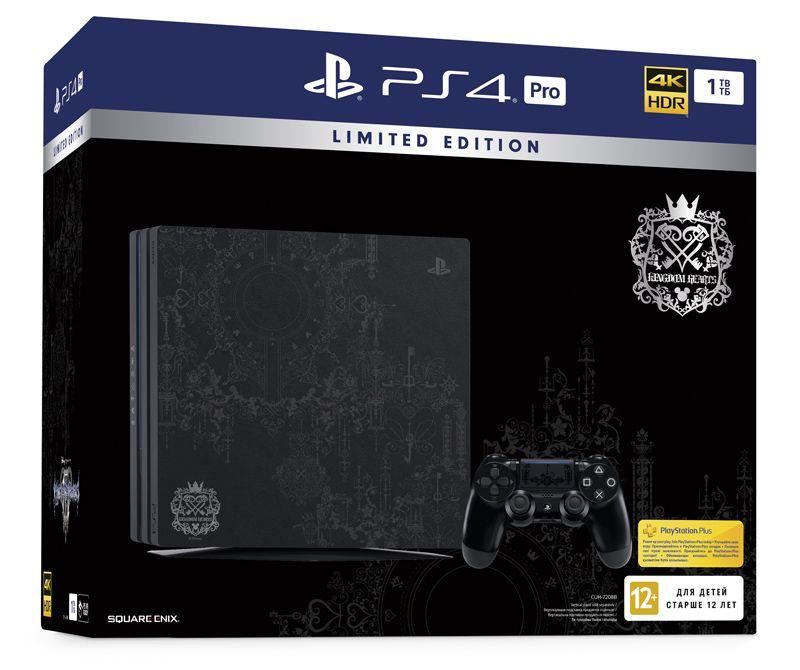 Sony PlayStation 4 Pro (1TB) в стиле Kingdom Hearts (CUH-7208B)