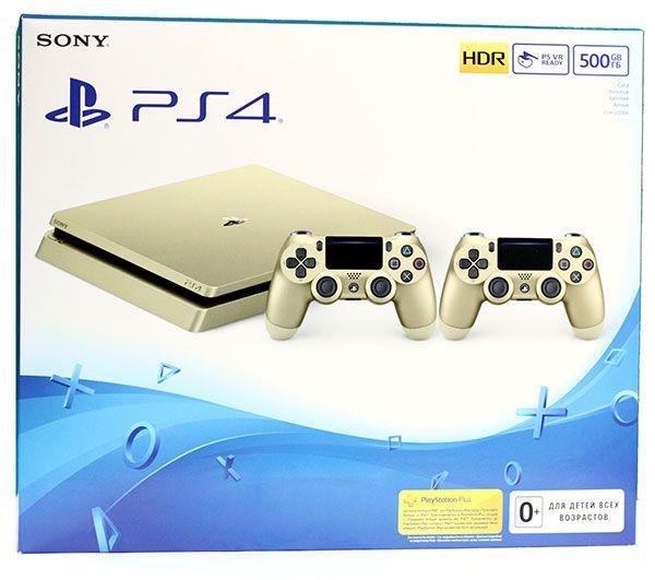 Sony PlayStation 4 Slim 500 Gb Gold Limited Edition (Золотая)