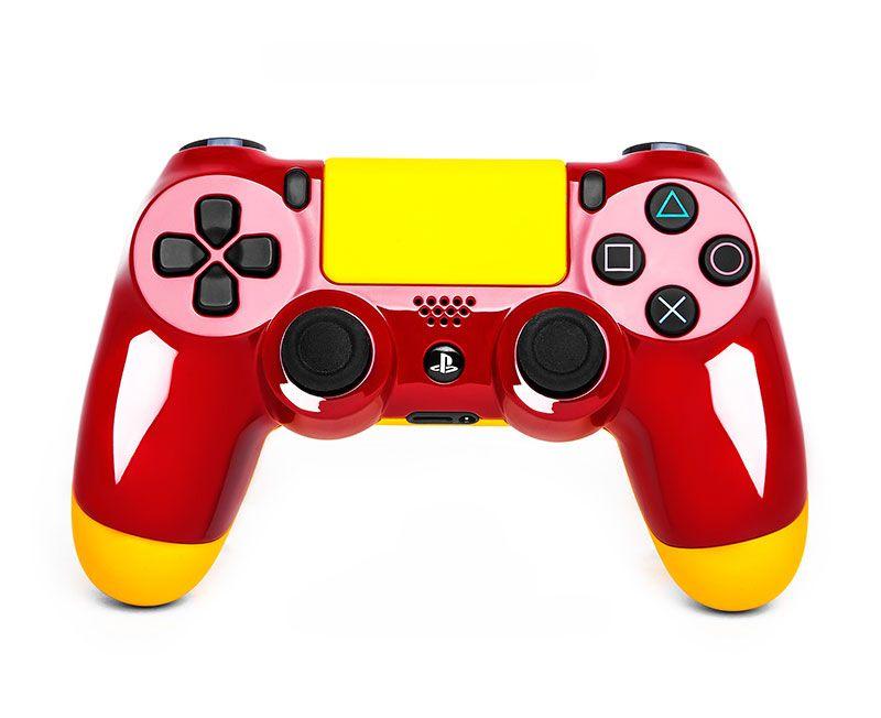 Геймпад DualShock 4 БЫСТРЫЙ И КРАСНЫЙ (PS4)