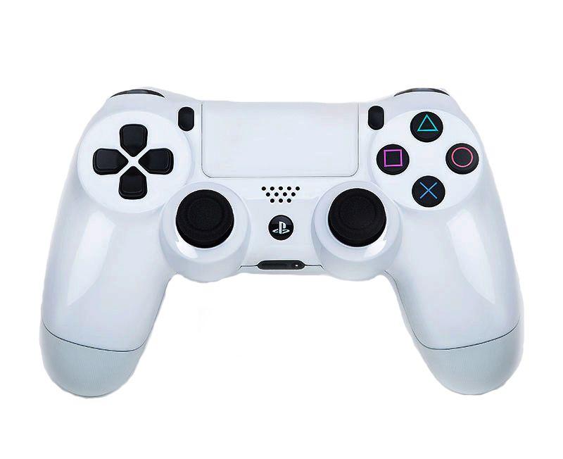 Геймпад DualShock 4 КОСМИЧЕСКИЙ БЕЛЫЙ (PS4)