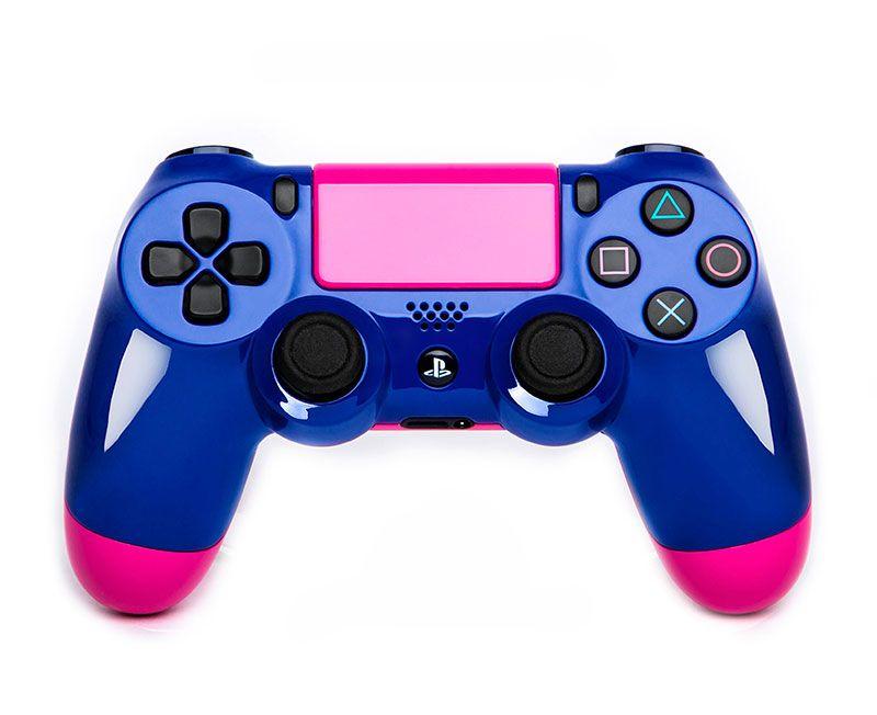 Геймпад DualShock 4 СИНИЙ ПРАЙМ  (PS4)