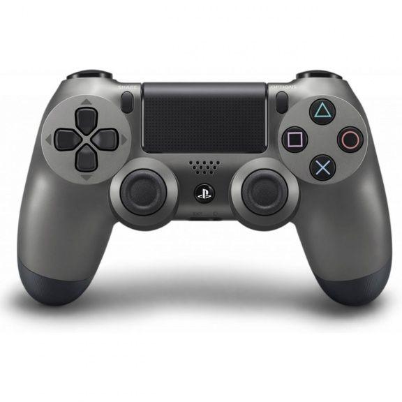 PS 4 Геймпад беспроводной Sony DualShock Steel Black (CUH-ZCT1T)