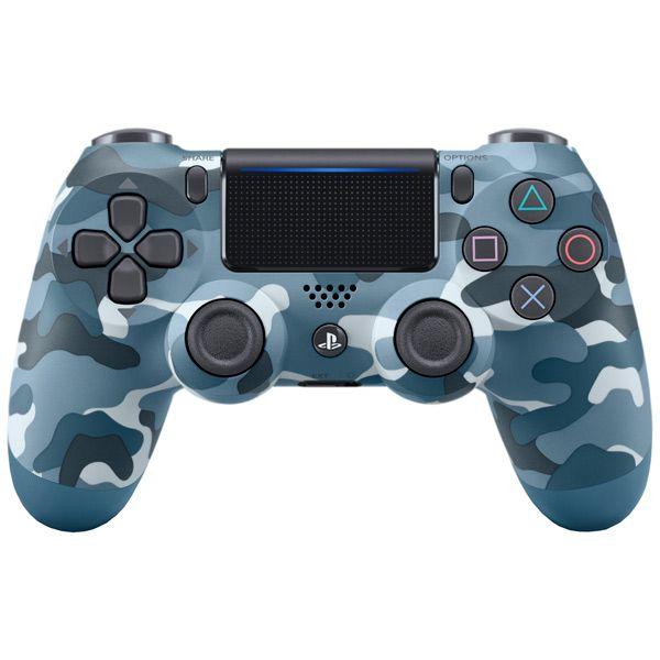 PS 4 Геймпад Sony DualShock Камуфляж синий v2 (CUH-ZCT2E)