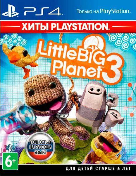 LittleBigPlanet 3 (Хиты PlayStation) (PS4)