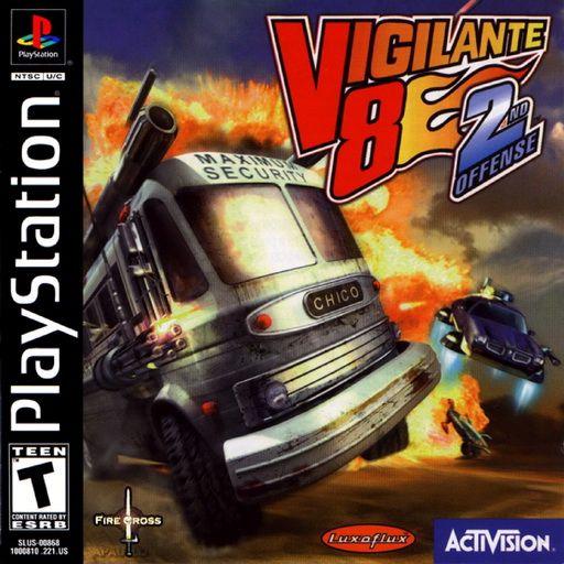 Vigilante 8: 2nd Offense (rus) (FireCross) (PS1)