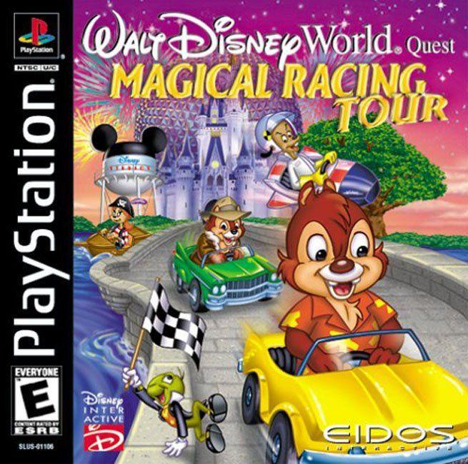 Walt Disney World Quest: Magical Racing Tour (eng) (PS1)