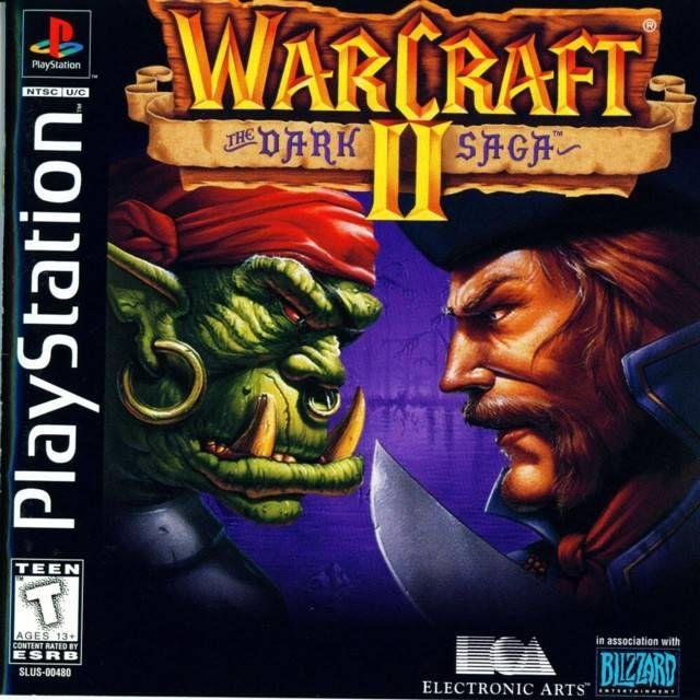 WarCraft II: The Dark Saga (rus) (RGR) (PS1)