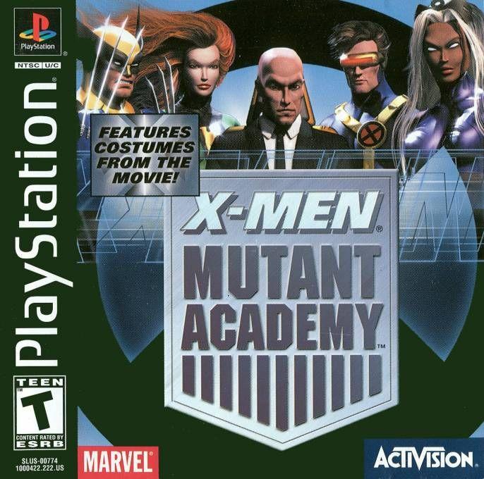 X-Men: Mutant Academy (rus) (Vector) (PS1)