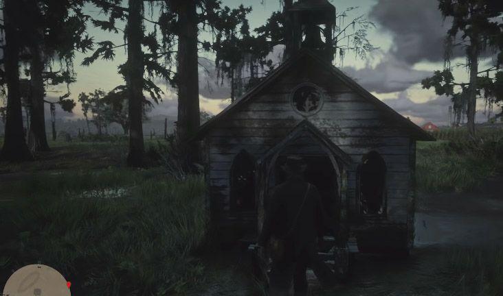 маленькая церковь rdr 2