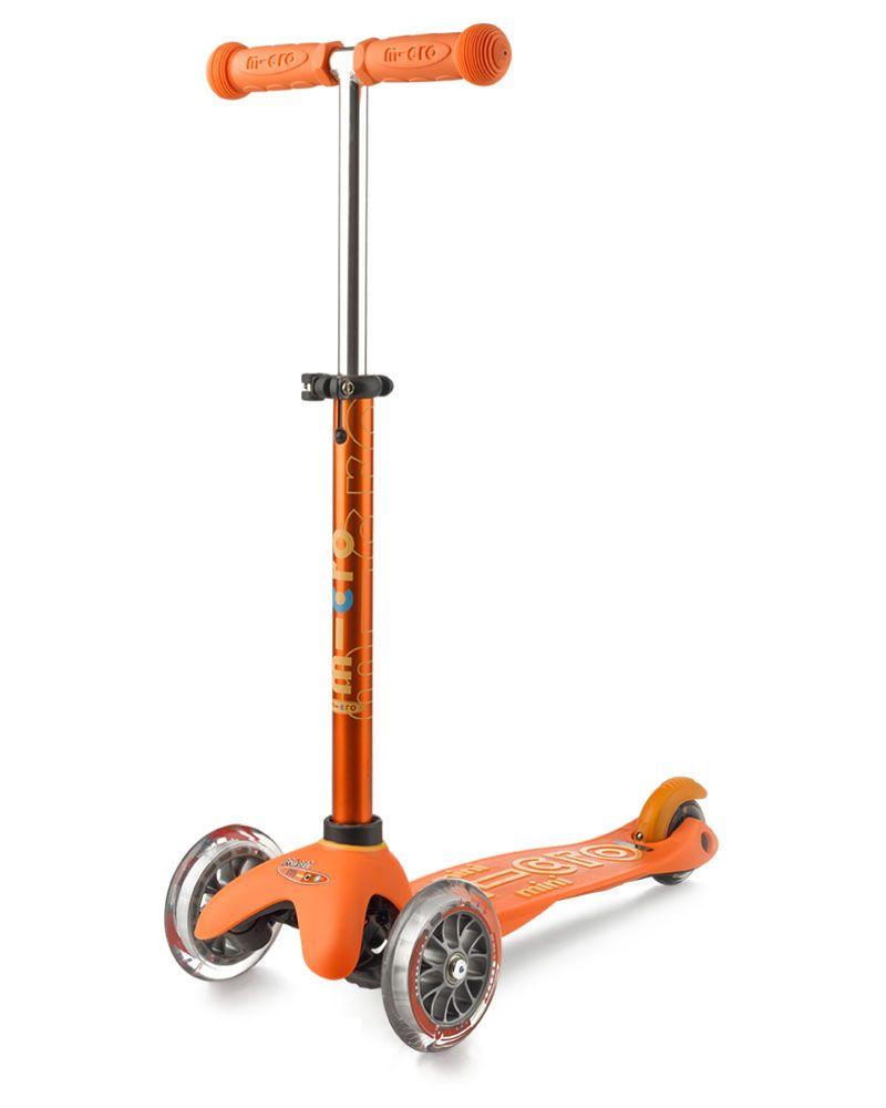 Самокат Micro Mini Deluxe, Оранжевый