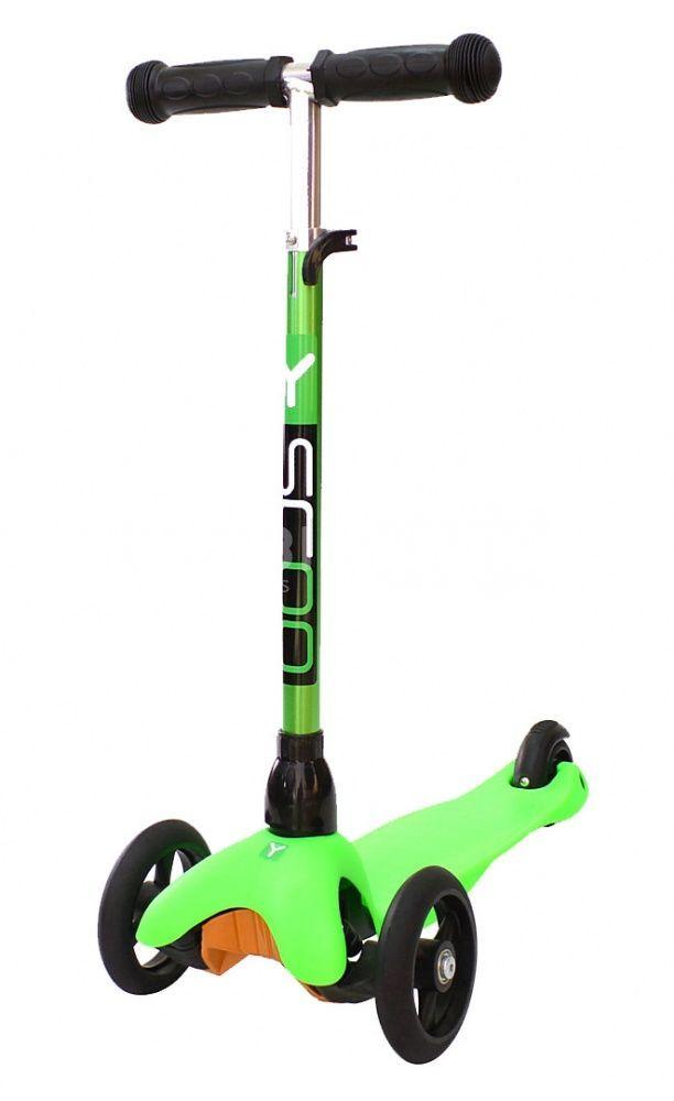 Y-scoo Mini Glam Metallic Green