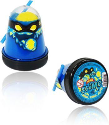 Слайм Slime Ninja синий и желтый