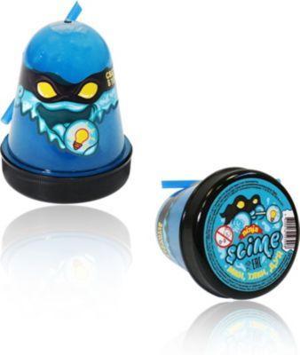 Слайм Slime Ninja светится в темноте, синий