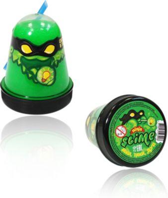 Слайм Slime Ninja светится в темноте, зеленый