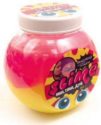 Слайм Slime Волшебный мир «Mega Mix», розовый и жёлтый