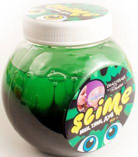 Слайм «Волшебный мир» Slime Mega Mix, черный и зеленый, 500 г