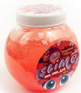 Слайм «Волшебный мир» Slime Mega Mix, прозрачный и красный, 500 г