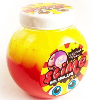 Слайм «Волшебный мир» Slime Mega Mix, желтый и клубничный, 500 г