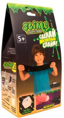 Набор Волшебный мир «Slime: Лаборатория», магнитный, малый, черный, 100 г