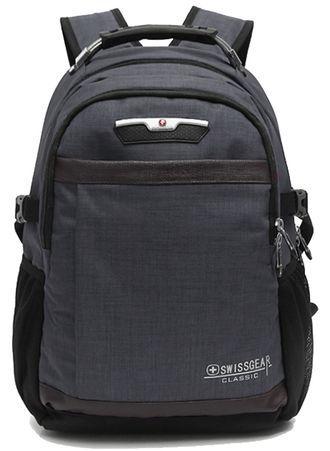 Рюкзак SWISSWIN 9358 СЕРЫЙ