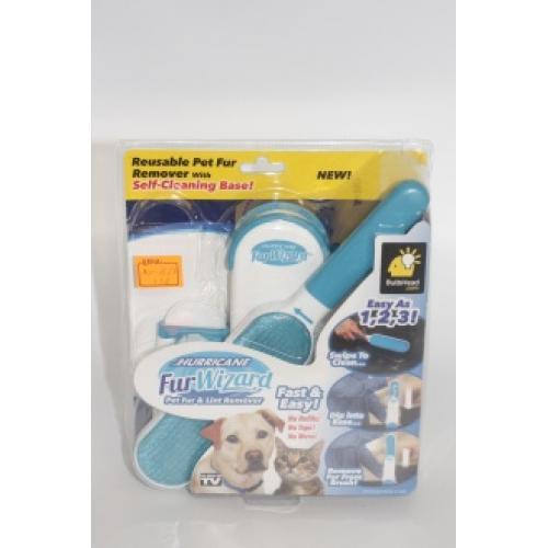 Щётка двухсторонняя для чистки шерсти собак , мебели и одежды MO-1619,MO-1627