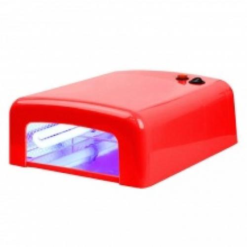 УФ-лампа для ногтей (большая красная) 36W MO-1308