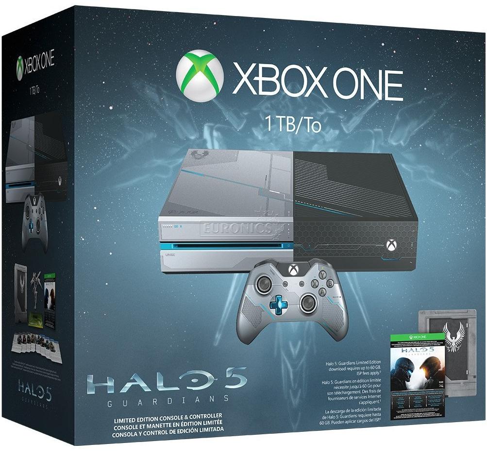 Игровая консоль Microsoft Xbox One 1ТБ + Halo 5: Guardians