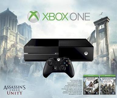 Игровая консоль Microsoft Xbox One + Assassin