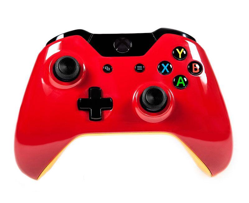 Беспроводной геймпад для Xbox One БЫСТРЫЙ И КРАСНЫЙ (XboxOne)