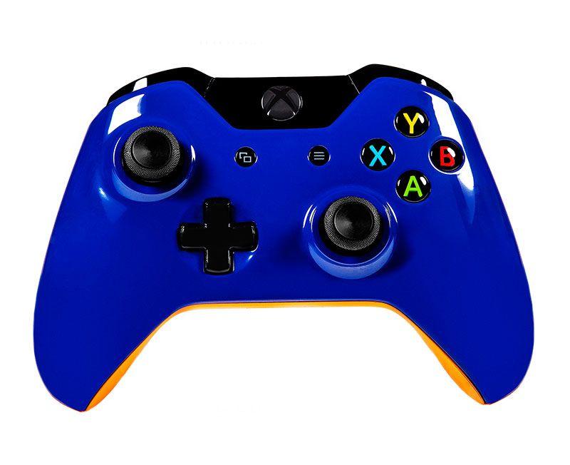 Беспроводной геймпад для Xbox One СИНИЙ ПРАЙМ (XboxOne)